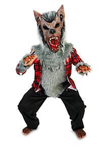 Boys 8-20 Howling Werewolf Costume