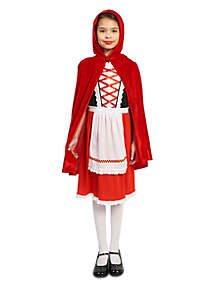 Girls 7-16 Red Riding Hood Classic Costume
