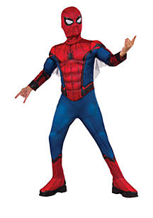 Rubie's Boys 8-20 Spider-Man Homecoming Deluxe Muscle Childrens Costume