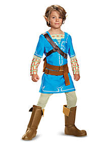 Rubie's Boys 8-20 The Legend of Zelda Link Breath of the Wild Deluxe Child Costume