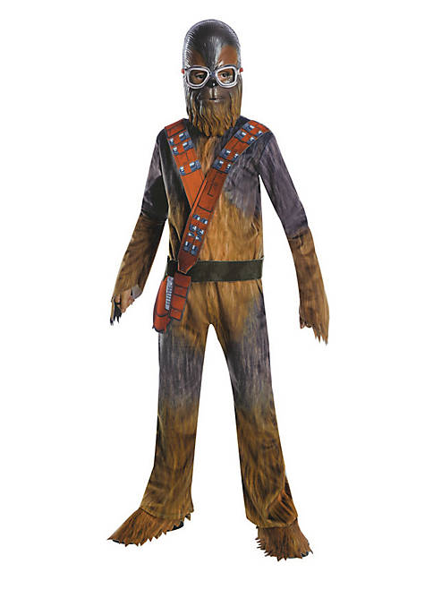 Boys 8-20 Solo A Star Wars Story-Chewbacca Deluxe Costume