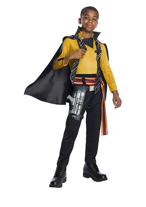 Boys 8-20 Solo A Star Wars Story- Lando Deluxe Costume