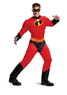 Rubie's Incredibles 2 Mr. Incredible Classic Muscle Adult Costume