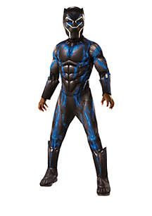 Boys 8-20 Marvel Black Panther Movie Deluxe Black Panther Battle Suit Costume