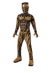 Rubie's Boys 8-20 Marvel Black Panther Movie Deluxe Erik Killmonger Battle Suit Costume
