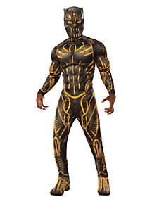 Rubie's Marvel Black Panther Movie Mens Deluxe Erik Killmonger Battle Suit Costume