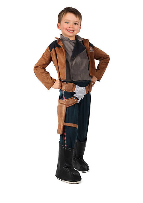 Boys 8-20 Star Wars Story Hans Solo Costume