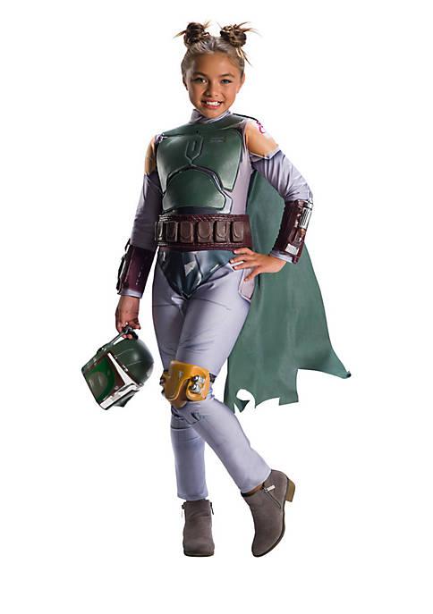 Boys 8-20 Star Wars Classic Girls Boba Fett Costume