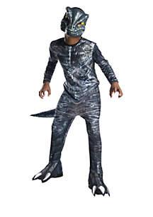 Boys 8-20 Jurassic World Fallen Kingdom Velociraptor Costume