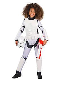 Rubie's Girls Star Wars Storm Trooper Costume