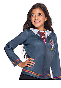 Girls 7-16 The Wizarding World Of Harry Potter Child Gryffindor Costume Top