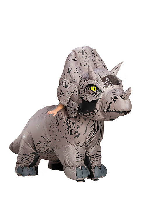Jurassic World Fallen Kingdom Men Tricaratops Inflatable Costume