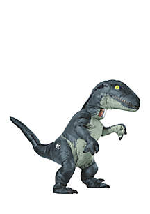 Rubie's Jurassic World Fallen Kingdom Velociraptor Adult Inflatable Costume With Sound