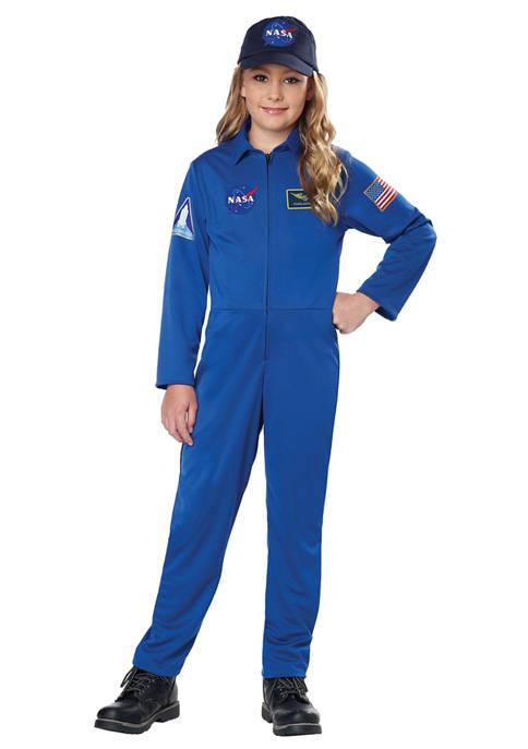 California Costumes Big Kids NASA Jumpsuit Costume