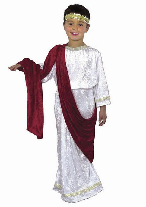 Charades Boys 8-20 Caesar Costume