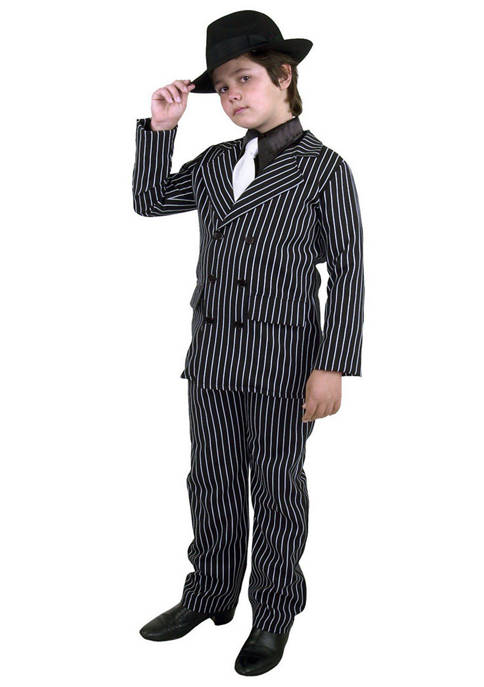 Charades Boys 8-20 Gangster Costume