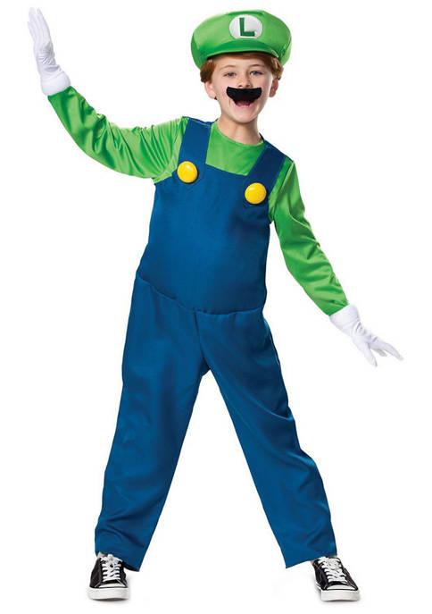 Disguise Boys 8-20 Luigi Deluxe Costume