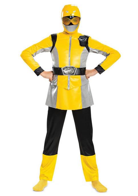 Disguise Big Kids Yellow Ranger Beast Morpher Deluxe