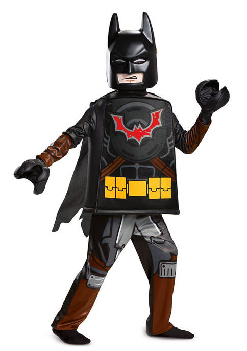 Disguise Boys 8-20 Lego Movie 2: Batman Deluxe