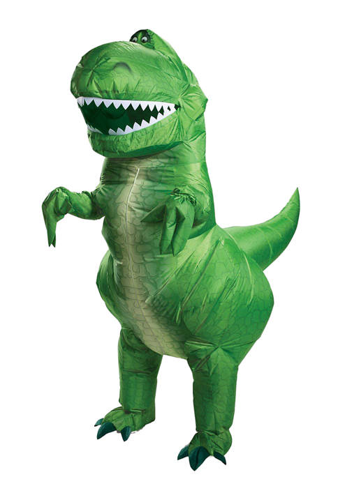 Disguise Adult Toy Story 4: Rex Inflatable Costume