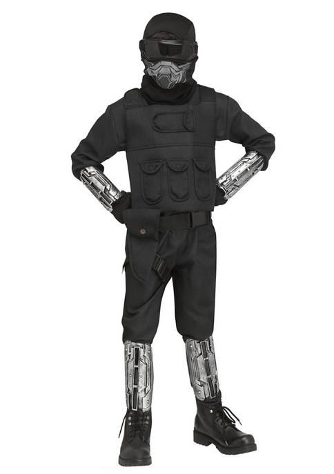 Fun World Boys 8-20 Gaming Fighter Costume