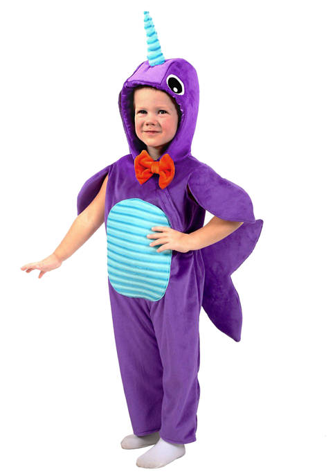 Princess Paradise Little Kids Minky Narwhal Costume