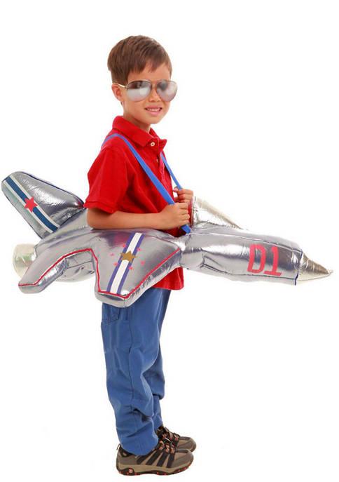 Princess Paradise Big Kids Plush Ride-In Airplane Costume