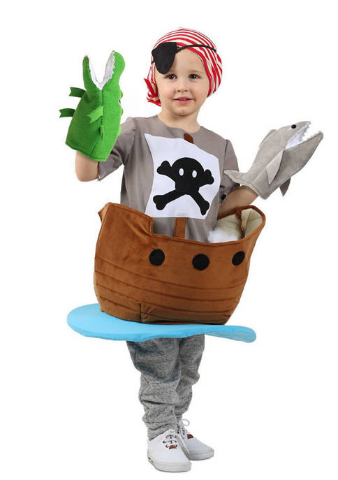 Princess Paradise Big Kids Candy Catchers Pirate Ship