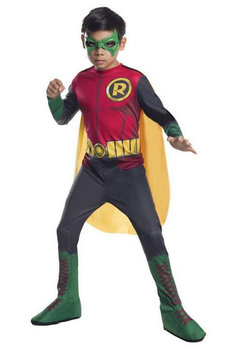 Rubie's Boys 8-20 DC Comics Robin Photo Real
