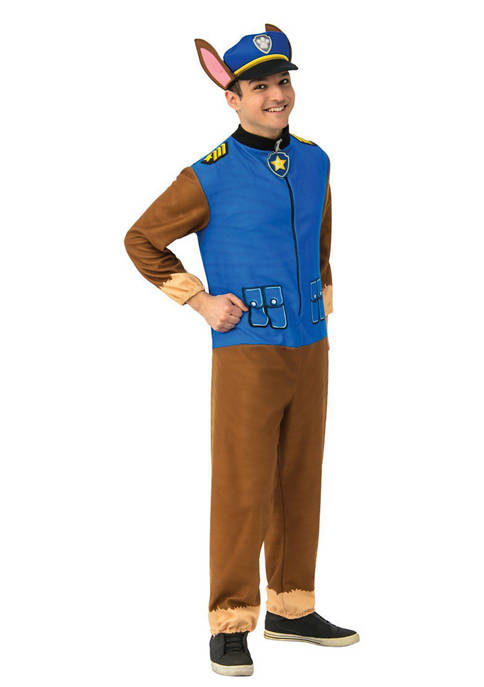 Rubie's Adult Paw Patrol Chase Jumpsuit Costume