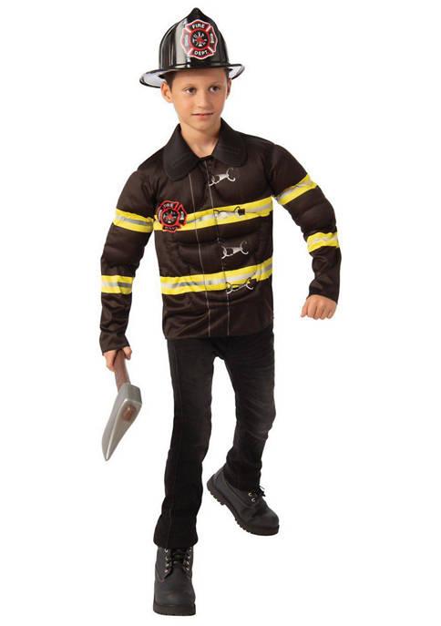 Rubie's Boys 8-20 Fireman Costume