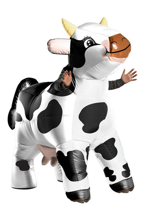 Rubie's Adult Funflatable Moo Moo the Cow Costume