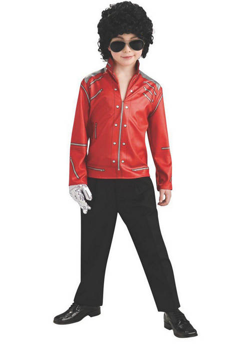 "Rubie's Boys 8-20 ""Beat It"" Red Zipper Michael"