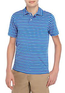 Crown & Ivy™ Boys 8-20 Course Stripe Polo