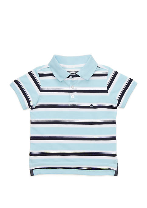 Crown & Ivy™ Boys 4-8 Polo with Flat