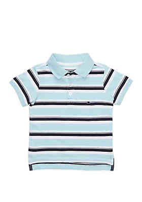 f51f7c6926bc Crown   Ivy™ Boys 4-8 Polo with Flat Knit Collar ...