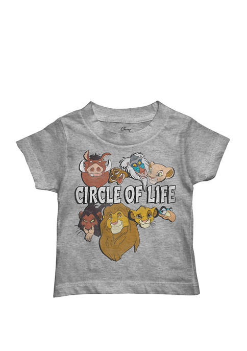 Mojang Toddler Boys Short Sleeve Lion King Graphic
