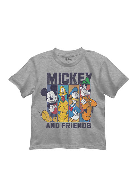 Boys 4-7 Mickey and Friends Graphic T-Shirt