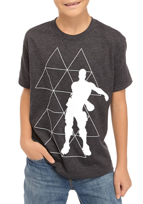 Boys 8-20 Short Sleeve Floss Triangle Graphic T-Shirt