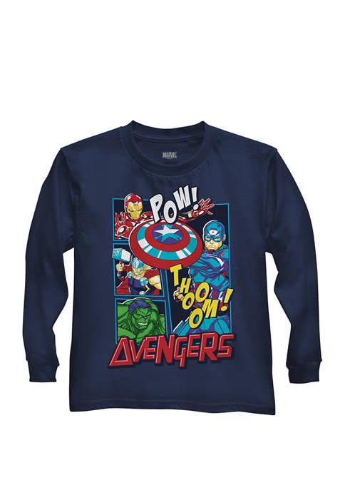 Boys 4-7 Avengers Pop Graphic T-Shirt
