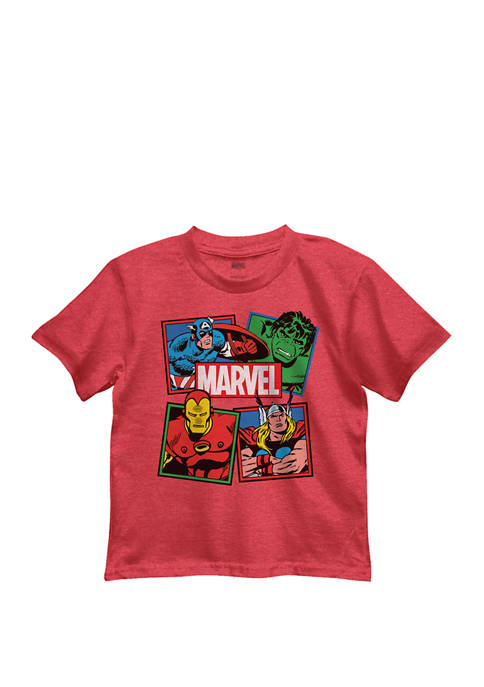 Boys 4-7 Primary Squares Graphic T-Shirt