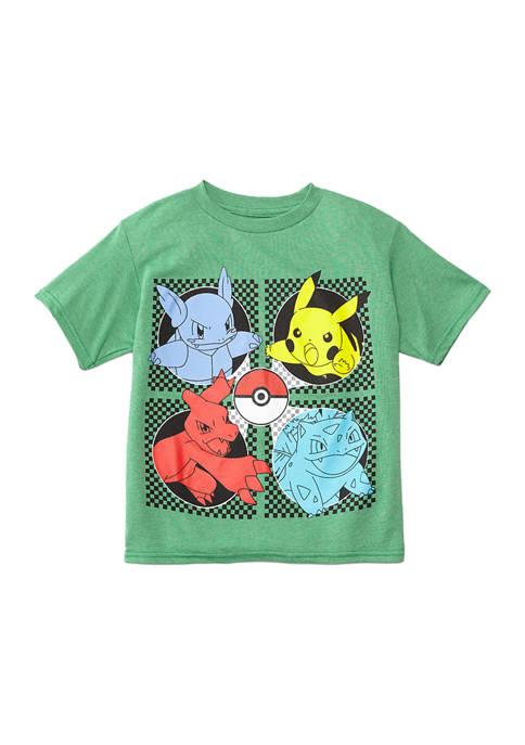 Boys 4-7 Short Sleeve Pokemon T-Shirt