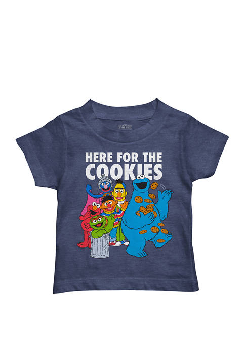 Mojang Toddler Boys Here For The Cookies Graphic
