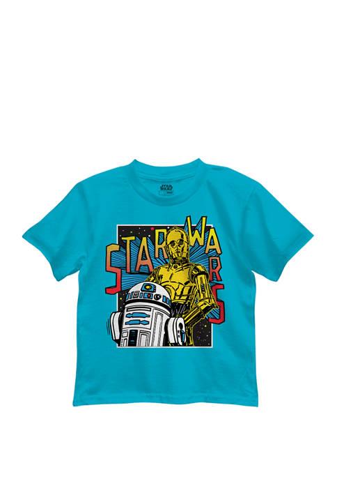 Boys 4-7 Star Wars Bright Droids Graphic T-shirt