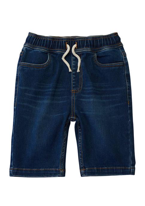 Boys 8-20  Pull On Denim Shorts