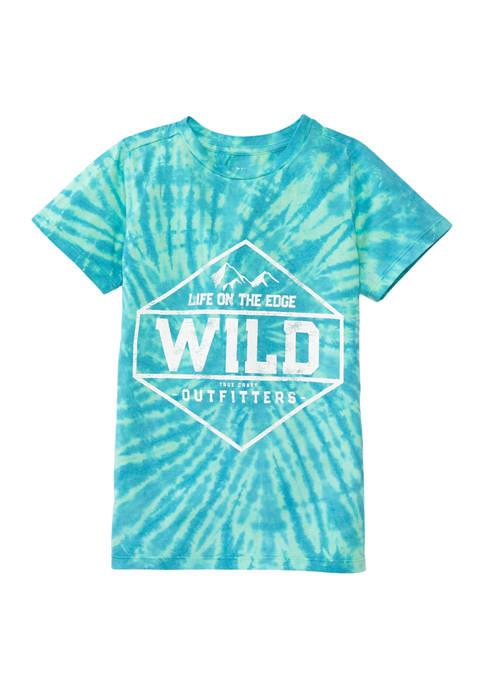 Boys 8-20 Short Sleeve Tie Dye Graphic T-Shirt