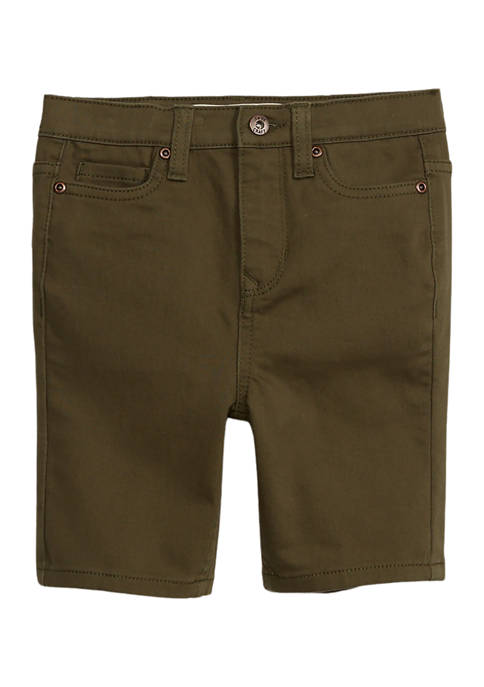Boys 4-7 Knit Twill Shorts