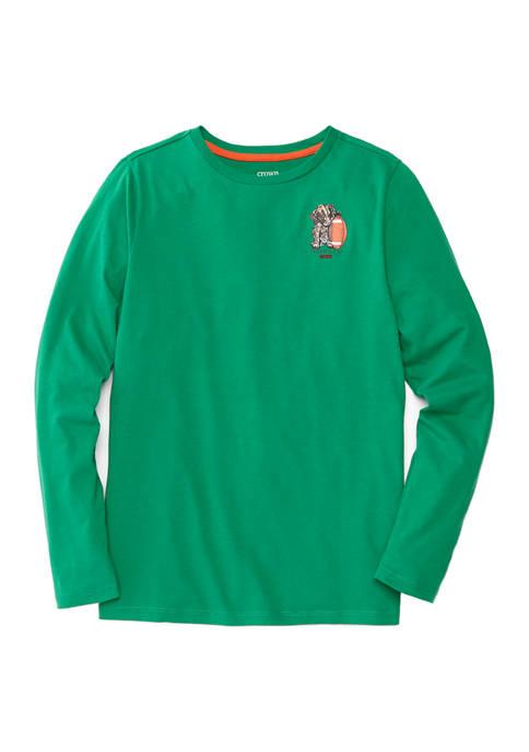 Boys 4-7 Long Sleeve Graphic T-Shirt