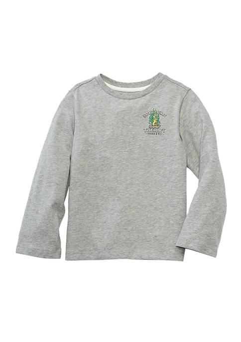 Crown & Ivy™ Boys 4-7 Long Sleeve Graphic