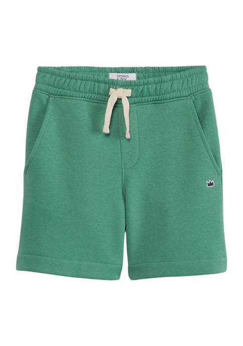 Crown & Ivy™ Boys 4-7 Elastic Shorts